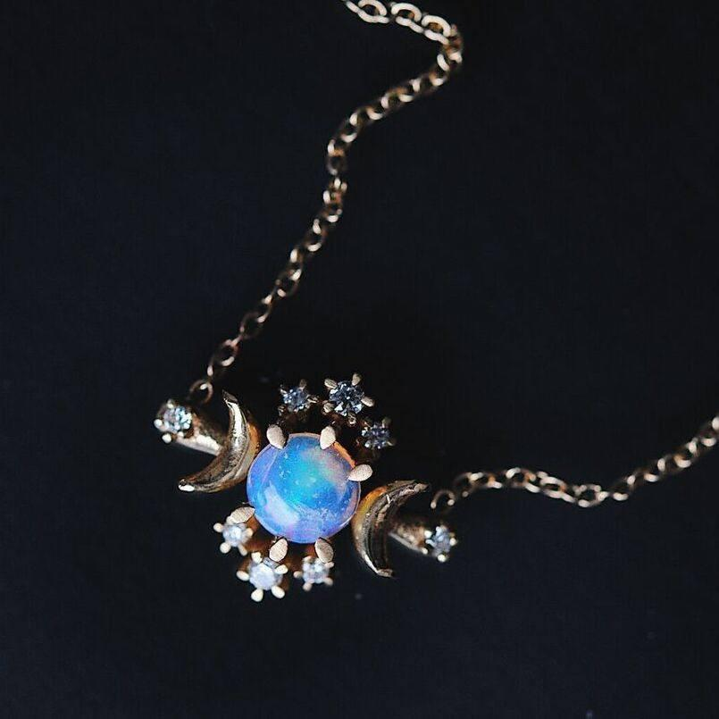 Wandering Star Necklace - local eclectic  - 2