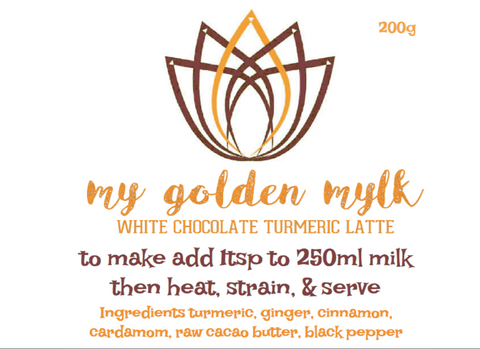 My White Chocolate Turmeric Chai 200g