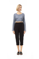 Cropped & Tapered Pants