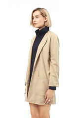 Camel Duster Coat