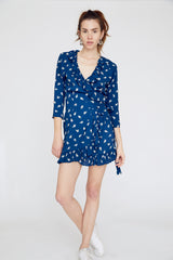 Flo Dress in Blue