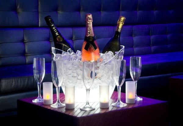VIP Table 1-10 Guests<br>2 Bottles