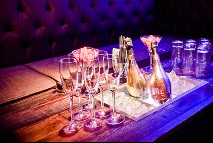 VIP Table 1-5 Guests<br> 1 Bottle