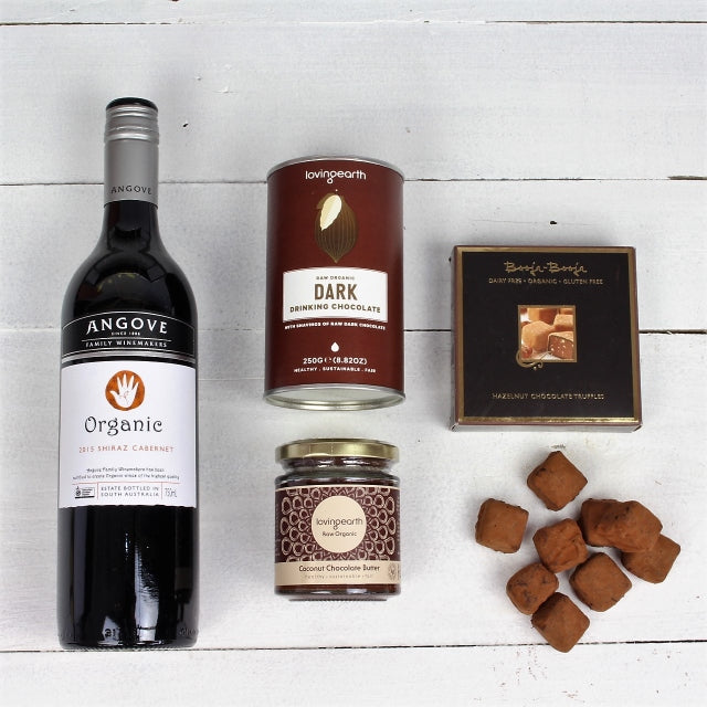 Red Wine and Chocolate Ethical Hamper