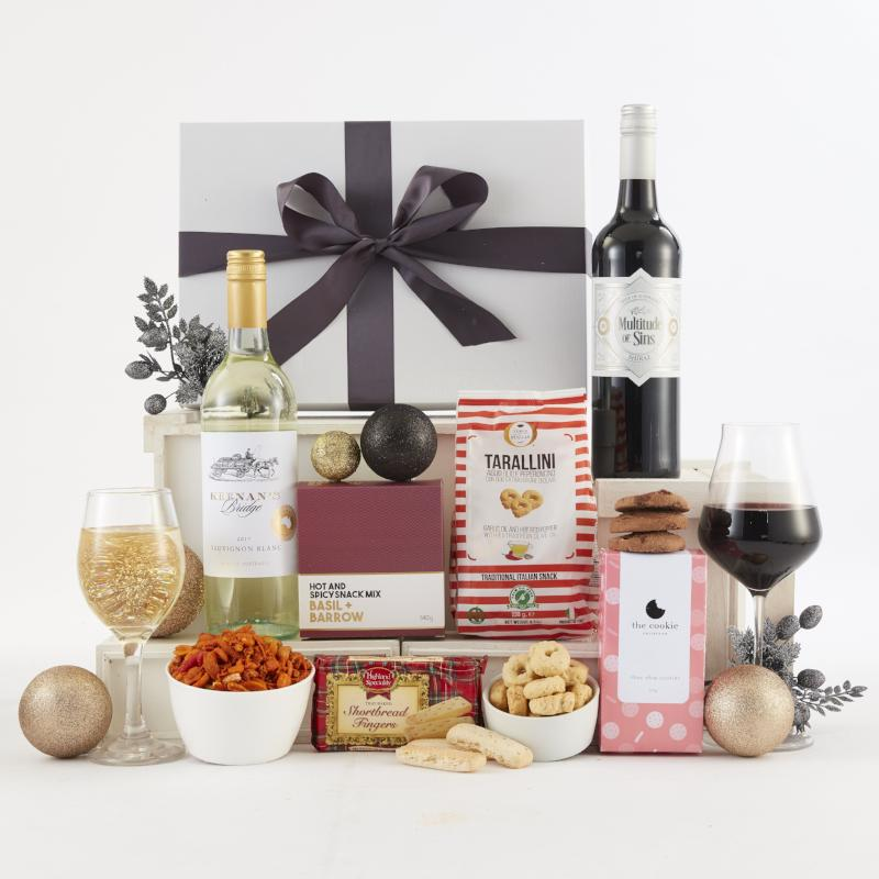 Red and White Delight Christmas Hamper