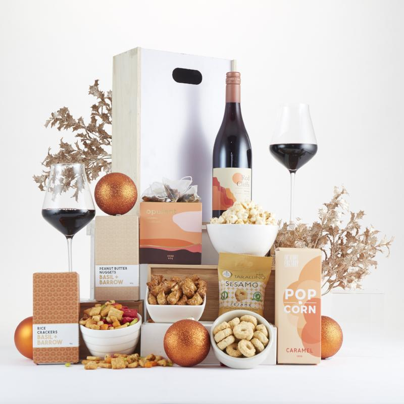 Festive Wine Box Hamper