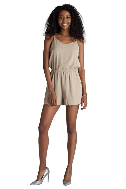 Cami Strappy Playsuit