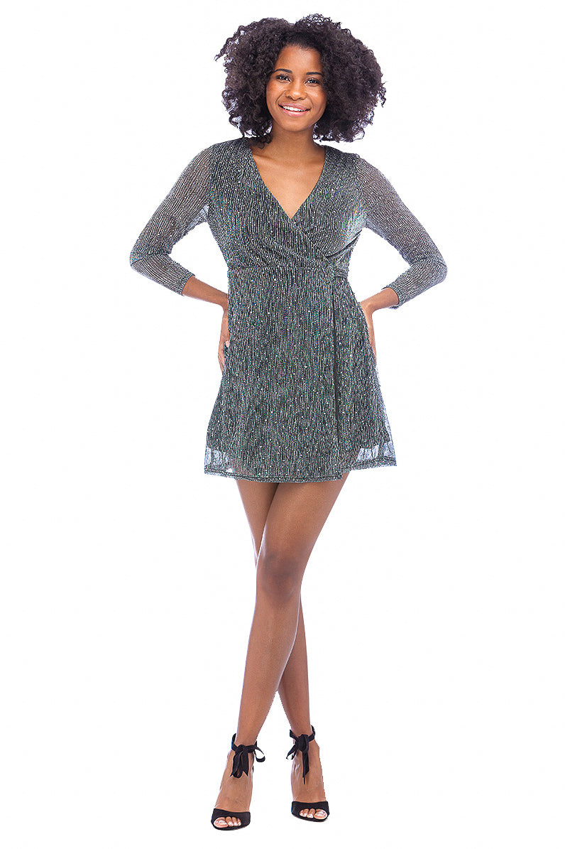 Glamorous Wrap Mini Dress