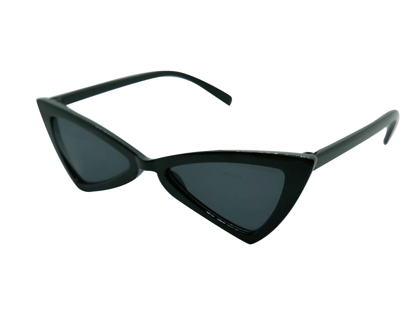 Isabelle Triangle Sunglasses // Black