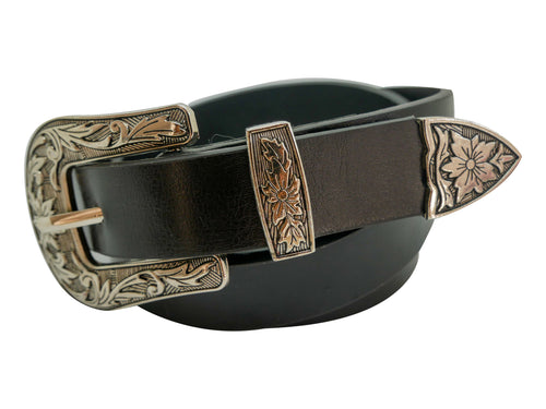 Buckle PU Leather Belt