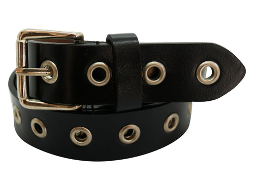 Round Leather Belt