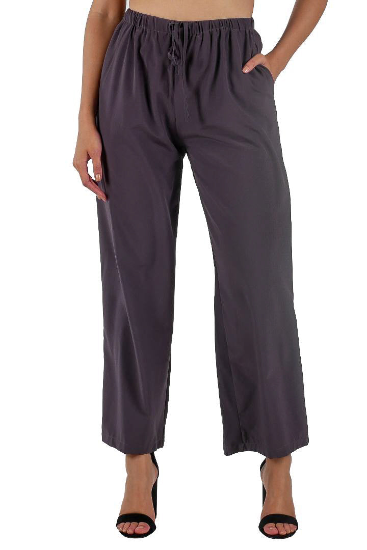Wide Leg Trousers // Grey