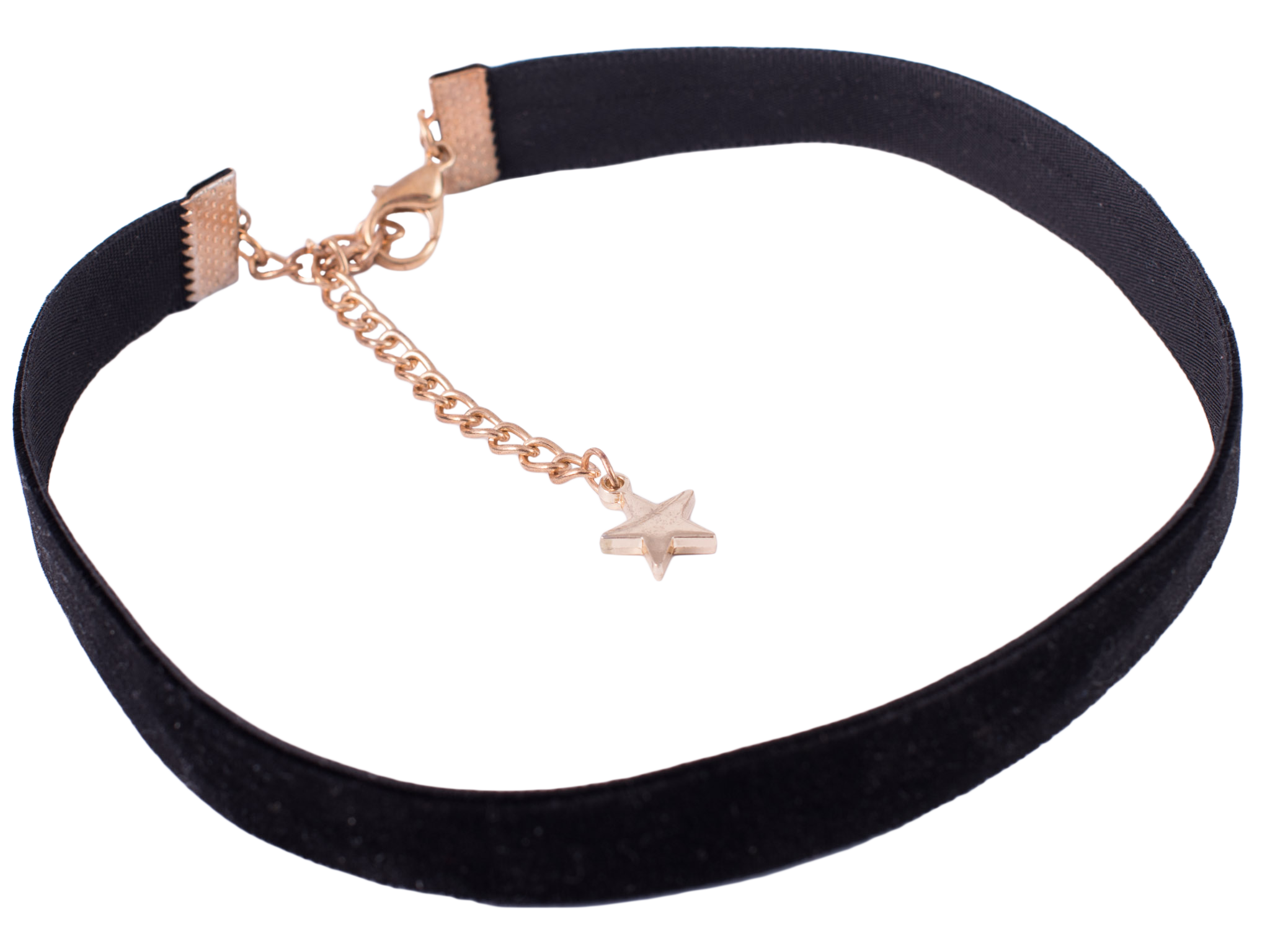 Velvet Black Choker Necklace