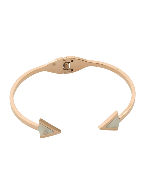 Rose Gold Arrow Cuff Bracelet