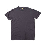 Velva Sheen Rolled Tee - Faded Black