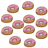 Donut Iron-on Patches
