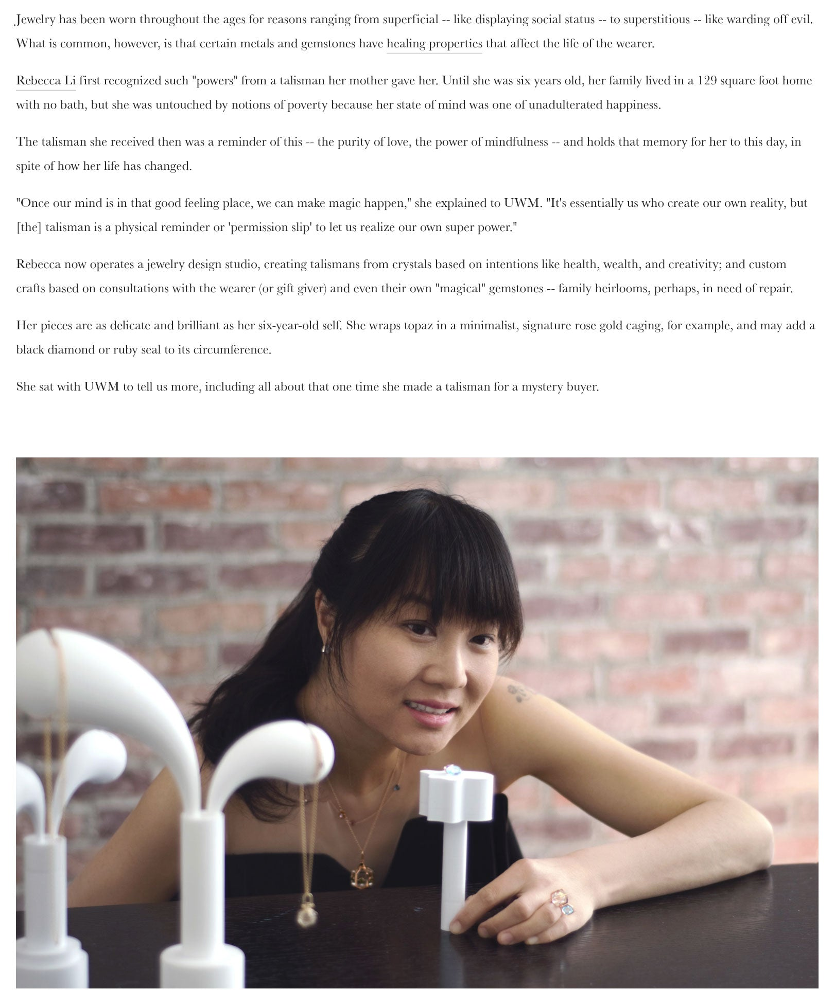 Interview with Urban Wellness Mag