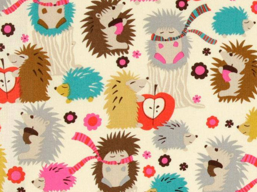 PRE-ORDER Bandana Bib Smiley Hedgehog