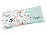 PRE-ORDER Beanie Pillow Animal Drawings Mint