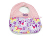 PRE-ORDER Round Bib Princess Unicorn Purple