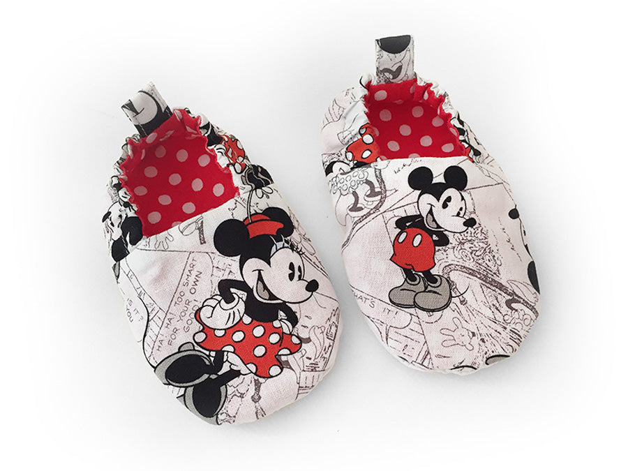 Mickey Comic Booties
