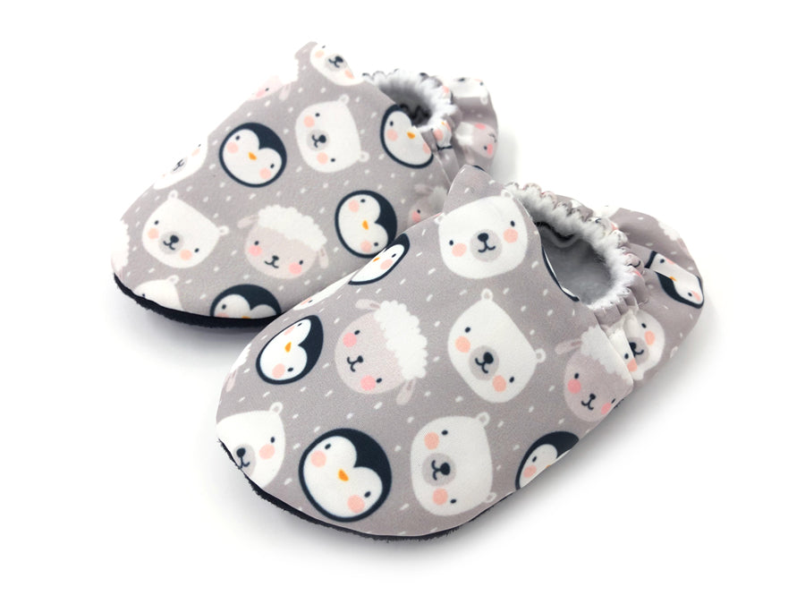 Snowy Animals Booties