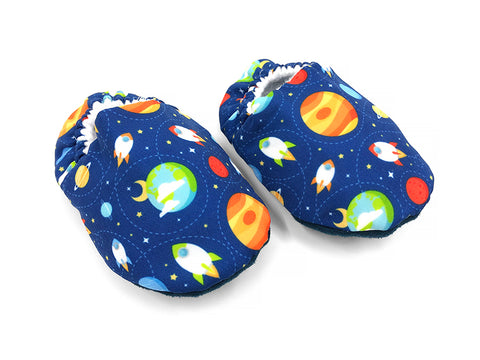 Space Fun Booties
