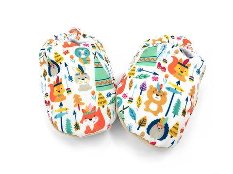 Teepee Animals Booties