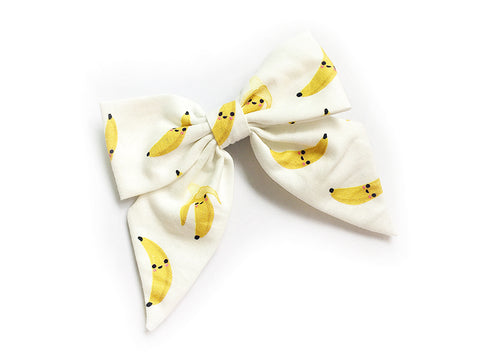 Bow Clip Cute Bananas