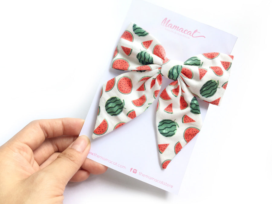 Bow Clip Watermelon