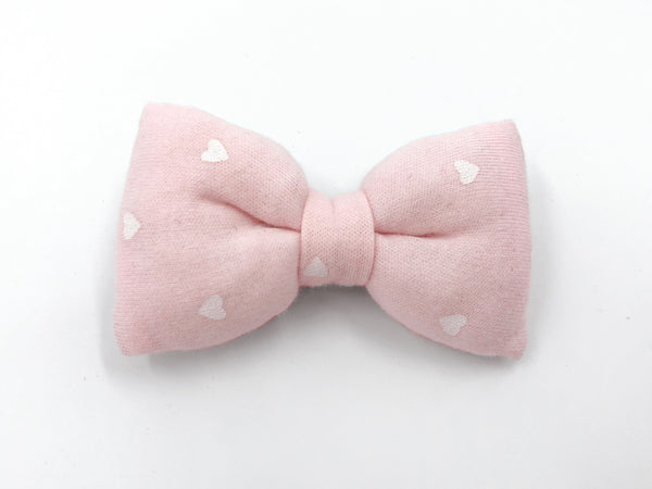 Bow Clip Little Heart Poofy