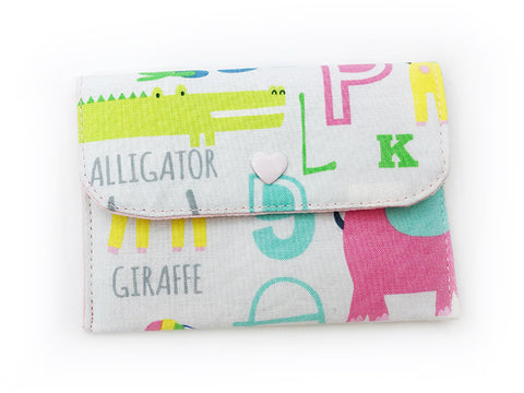 Card Wallet ABC Animal