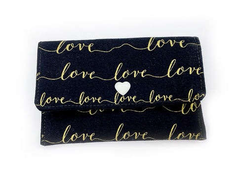 Card Wallet Gold Love