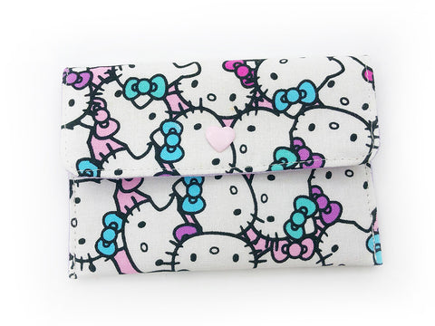 Card Wallet Hello Kitty Purple Bow