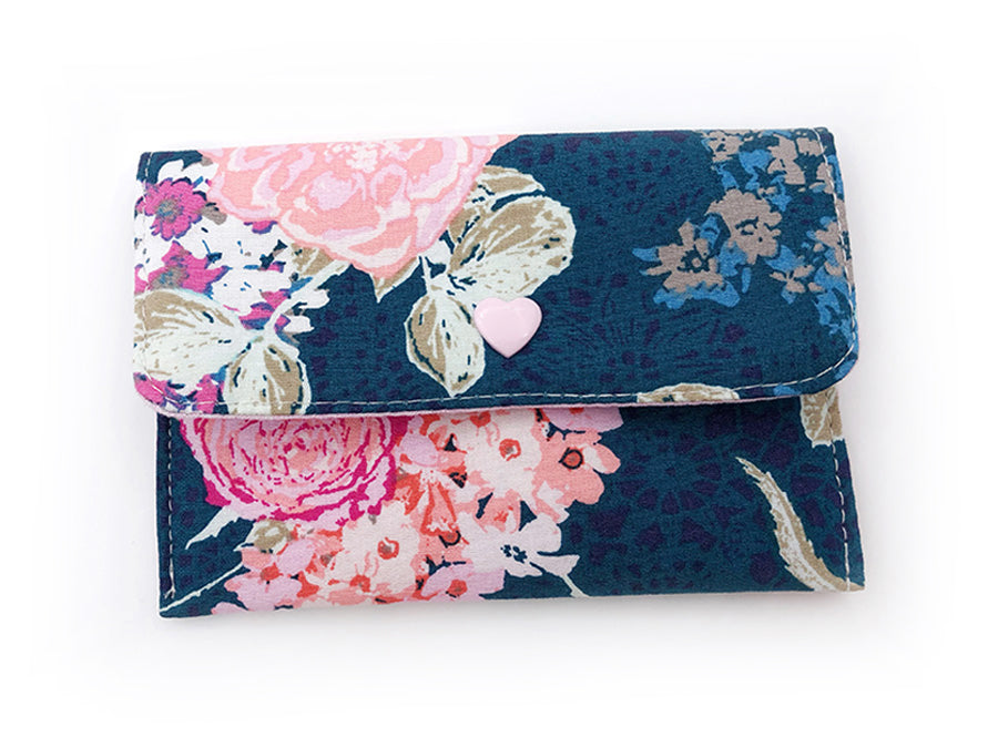 PRE-ORDER Fabric Wallet Lace Florals