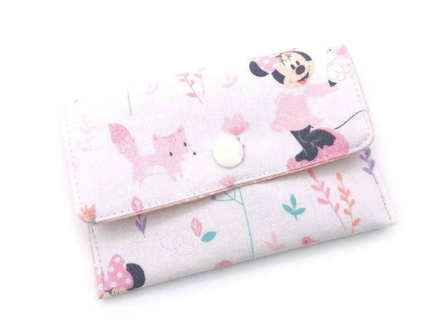 PRE-ORDER Fabric Wallet Minnie Pink