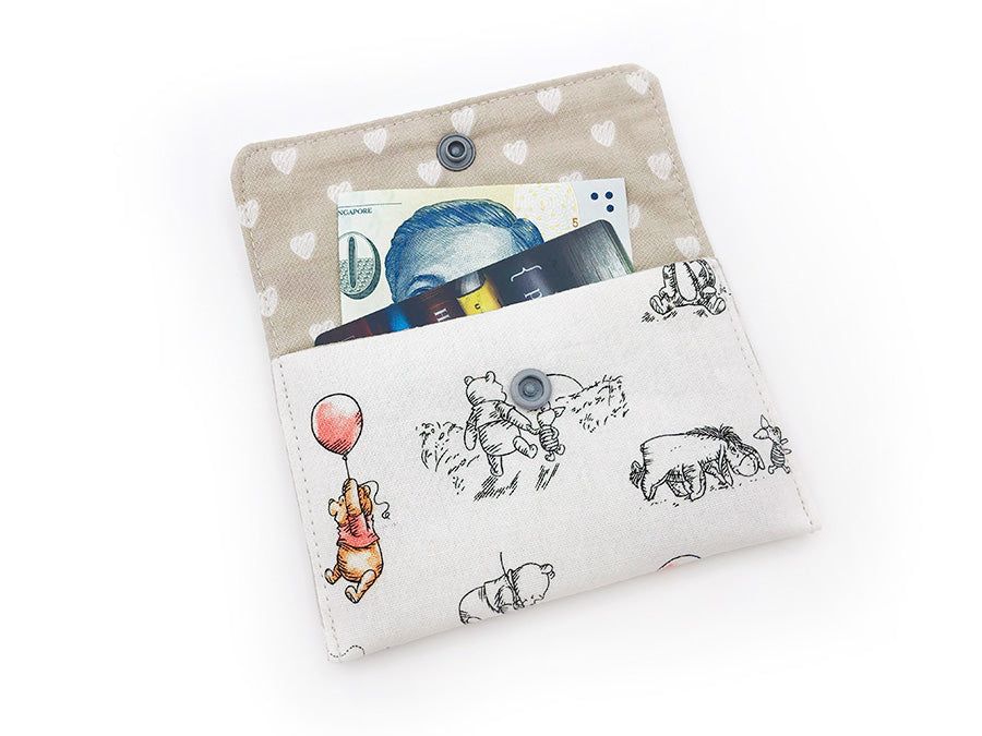 PRE-ORDER Fabric Wallet Pooh Balloon