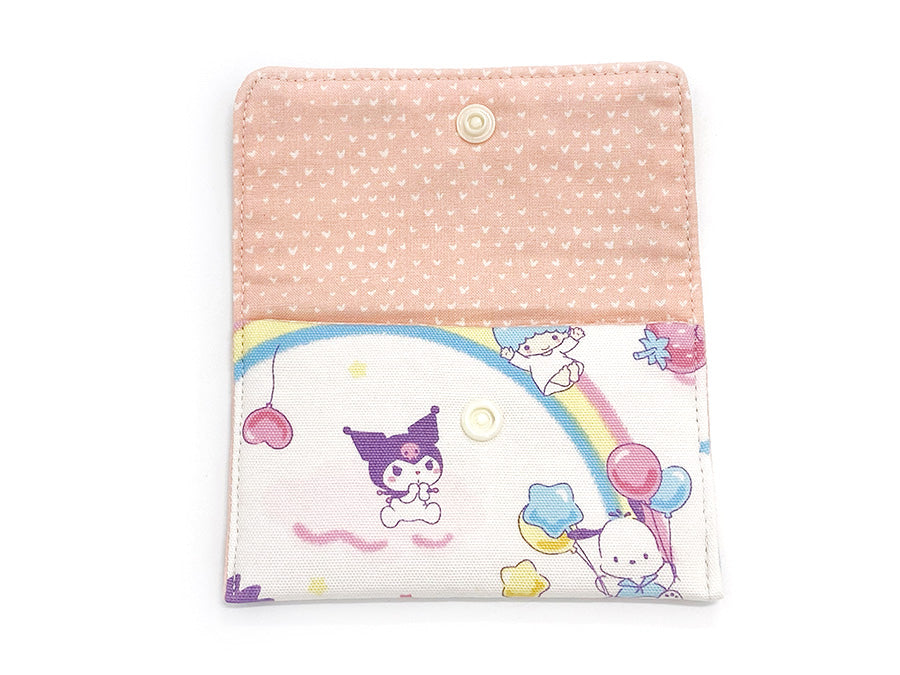 PRE-ORDER Fabric Wallet Sanrio Party Cream