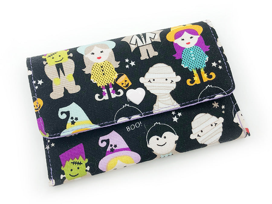 PRE-ORDER Fabric Wallet Trick or Treat