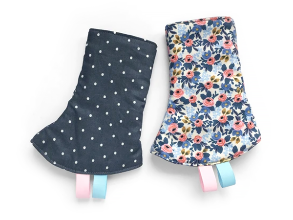 PRE-ORDER Drool Pads Blossom Dots