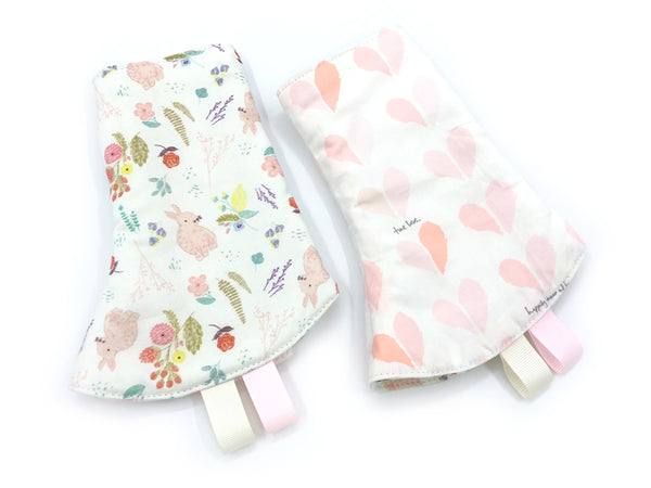 PRE-ORDER Corner Drool Pads Bunny Hearts