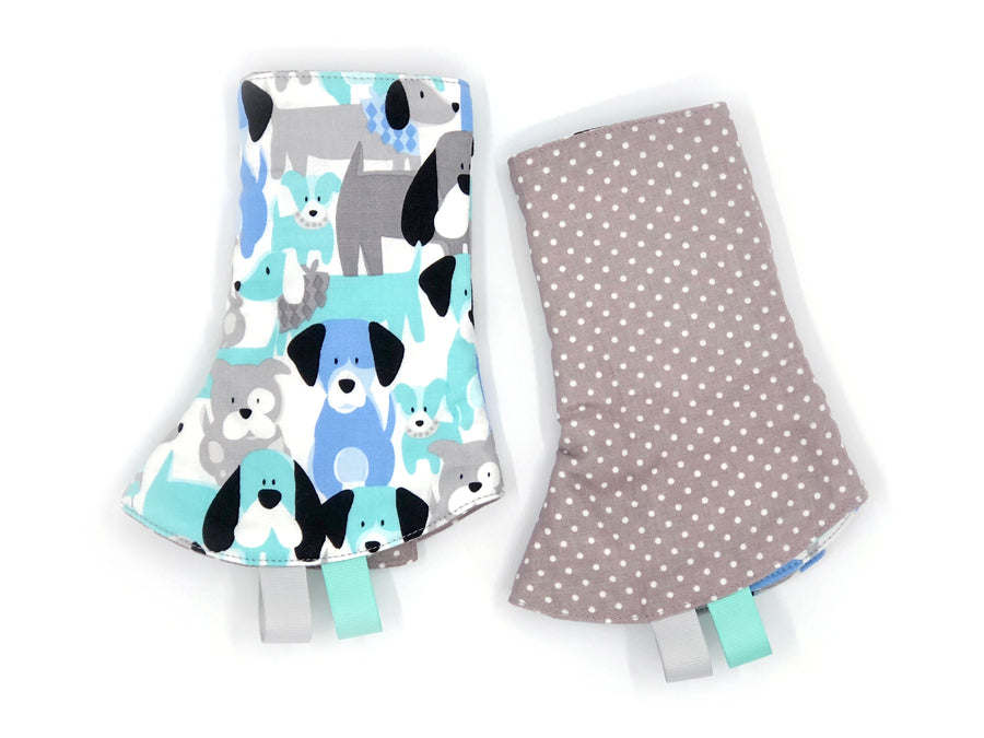 PRE-ORDER Drool Pads Doggy Dots
