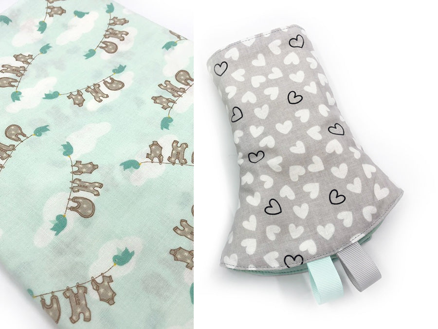 PRE-ORDER Drool Pads Flying Laundry Mint