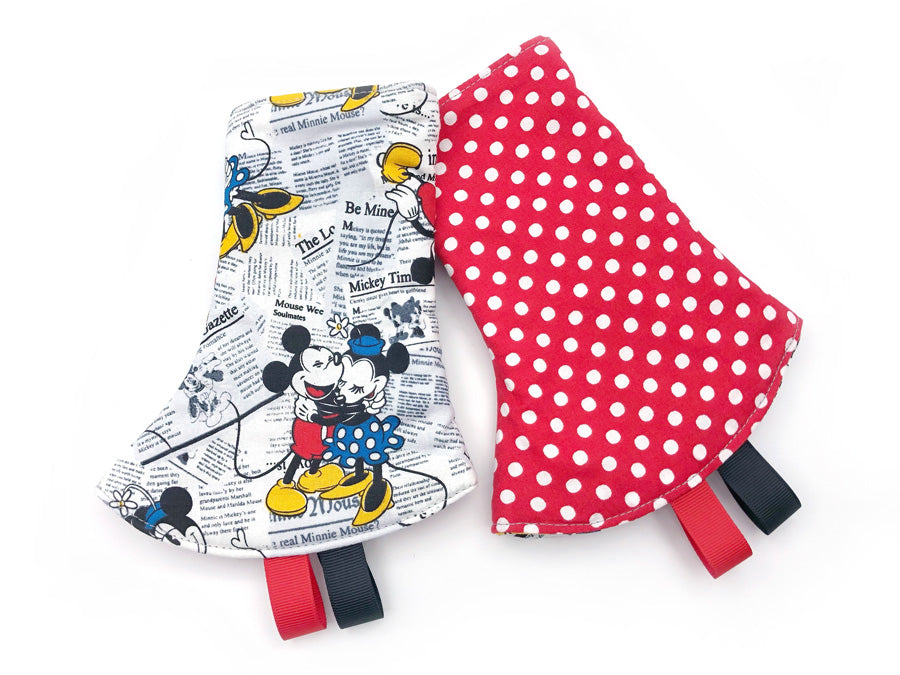 PRE-ORDER Drool Pads Mickey Minnie News