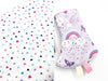 PRE-ORDER Drool Pads Purple Rainbow