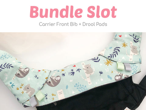 Custom Carrier Front Bib Bundle