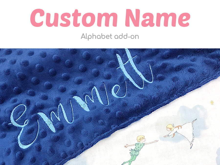 Top up for Name Alphabets (Minky Blanket)