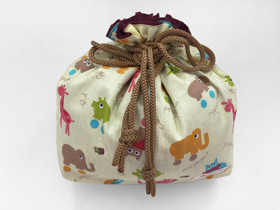 Drawstring Pouch (Large) Animal Skates