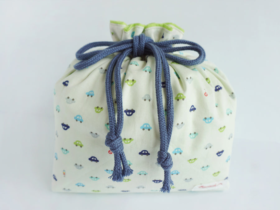 Drawstring Pouch (Large) Beep Beep