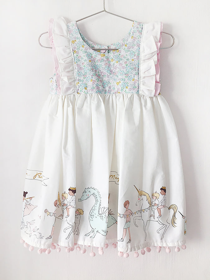 White Parade Dress